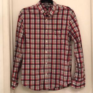 14th & Union Checkered Men's Button Down Shirt